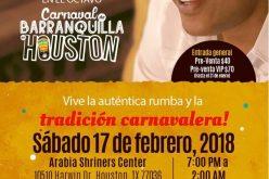 Sergio Vargas en el carnaval de Barranquilla, pero en Houston, Texas, EEUU…