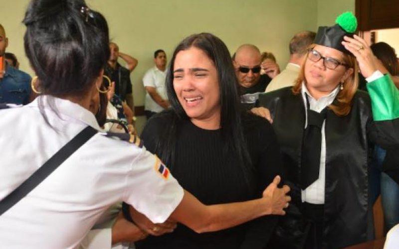 (Video) Martha Heredia declarando tras recibir su libertad condicional