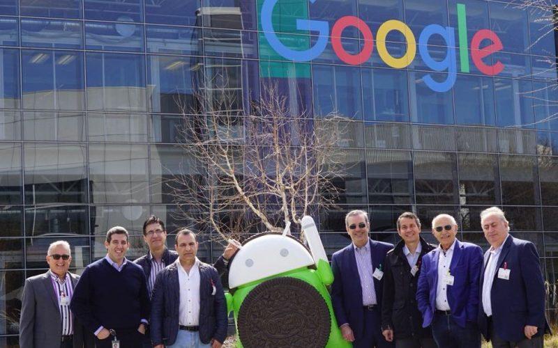 Luis Abinader y su recorrido por Silicon Valley, en California; fue recibido por ejecutivos de Google y Hewlett Packard