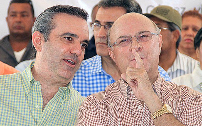 Cuentan que el acuerdo de Hipólito Mejía y Luis Abinader en el PRM podría terminar como la fiesta de los monos