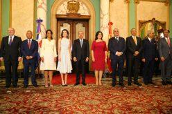 (Video) La reina Letizia de España recibida en el Palacio Nacional de República Dominicana