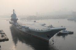 China prueba su primer portaviones…