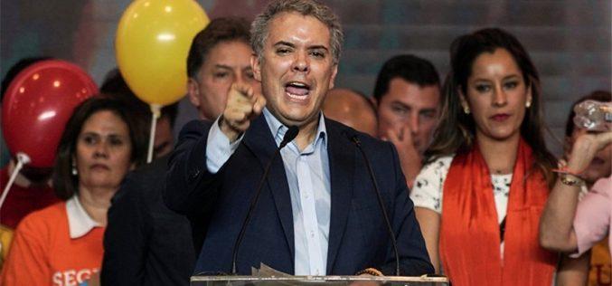 Iván Duque ganó elecciones de primera vuelta en Colombia; pero tiene que ir a segunda frente a Gustavo Petro