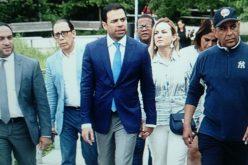 Roberto Ángel Salcedo y su «swing» de presidente en un paseo neoyorkino