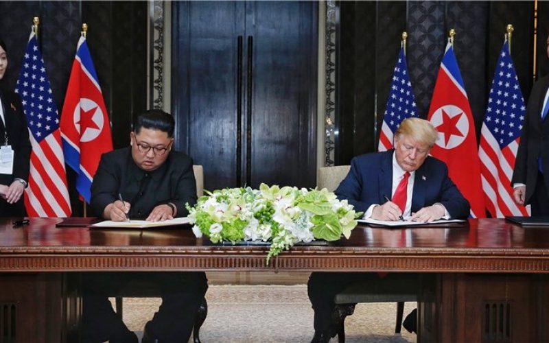 Kim Jong Un acuerda con Donald Trump desnuclearizar península Corea a cambio seguridad por parte de Washington