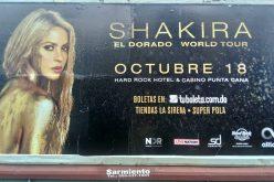 El espectáculo de Shakira en RD comienza a promoverse…