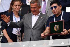 Fue un «robo monumental» el triunfo de Inglaterra sobre Colombia en Copa Mundial, asegura Maradona