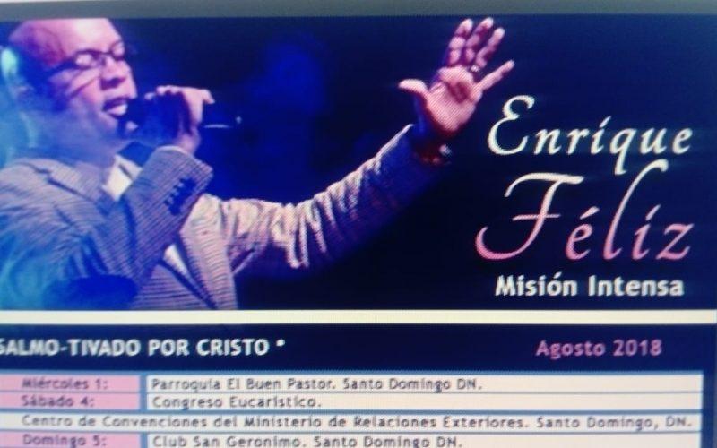 Enrique Félix, de su «Yaniqueque con mabí» en la Uasd revolucionaria a cantos de alabanzas al Señor en iglesias de EEUU