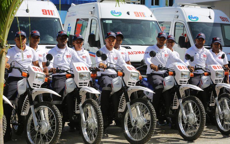 El sistema 9-1-1 llega a Baní y a toda la provincia Preravia; Danilo lo inauguró hoy en esa zona