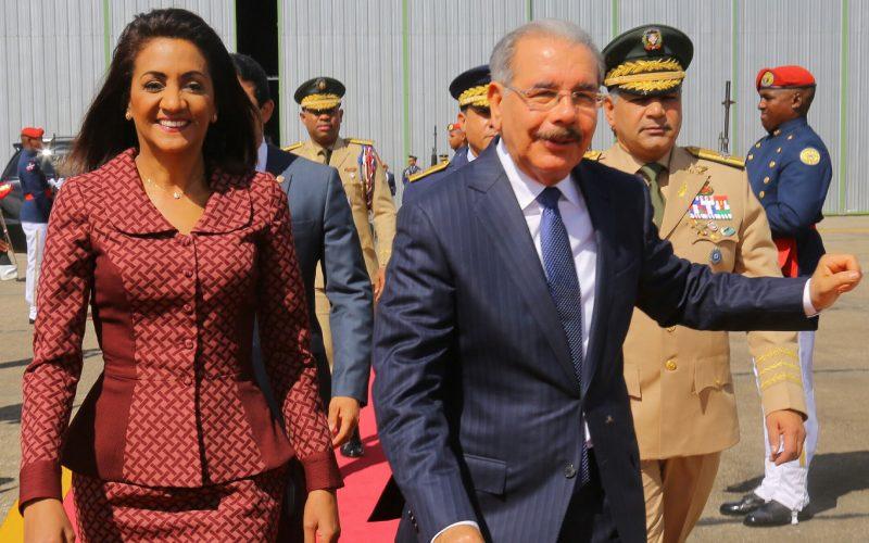 Presidente Danilo Medina partió este domingo a Nueva York a participar en Asamblea ONU