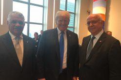 Embajada EEUU en RD destaca encuentro de Donald Trump con canciller dominicano Miguel Vargas; no refiere sobre encuentro con presidente Medina