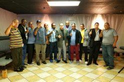 Dirigentes del PRM movilizándose en Reading, Pensilvania