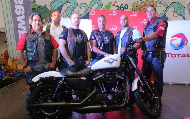 Exhibición de motos en Galería 360