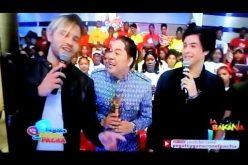 (Video) El Pachá se declara «enamorao» de Choly, uno de los integrantes de Lo Blanquito: «¡El tipo 'ta bueno!»