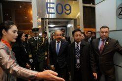 Danilo Medina en entrevistado para la agencia de noticias Xinhua, de China, antes de iniciar viaje a la nación asiática