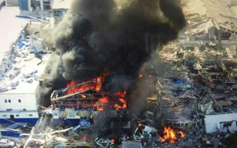 Danilo y Leonel lamentan tragedia por explosión del tanque del camión carguero de gas en empresa PolyPlas de Villas Agrícolas