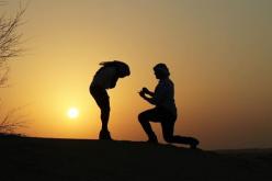 Toda romántica la propuesta de matrimonio a la presentadora de tv Francisca Lachapel en un atardecer de Dubai