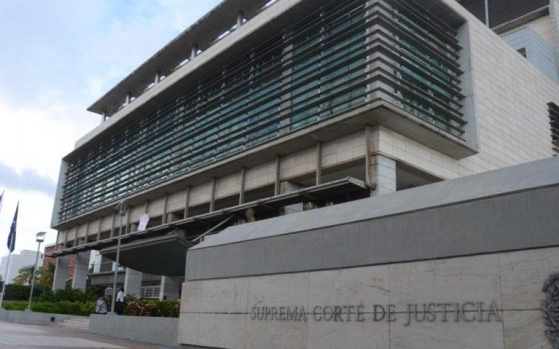 (Video) «Porque esta es una justicia de mierda» dirigentes del Falpo acuden a sede de la Suprema Corte de Justicia a lanzarle excremento humano
