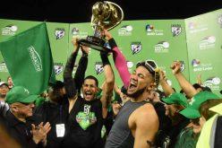 (Video) Fernando Tatis y Jumbo lo saben… Ese momento en el que se hace el último out para convertirse en campeones, no tiene precio