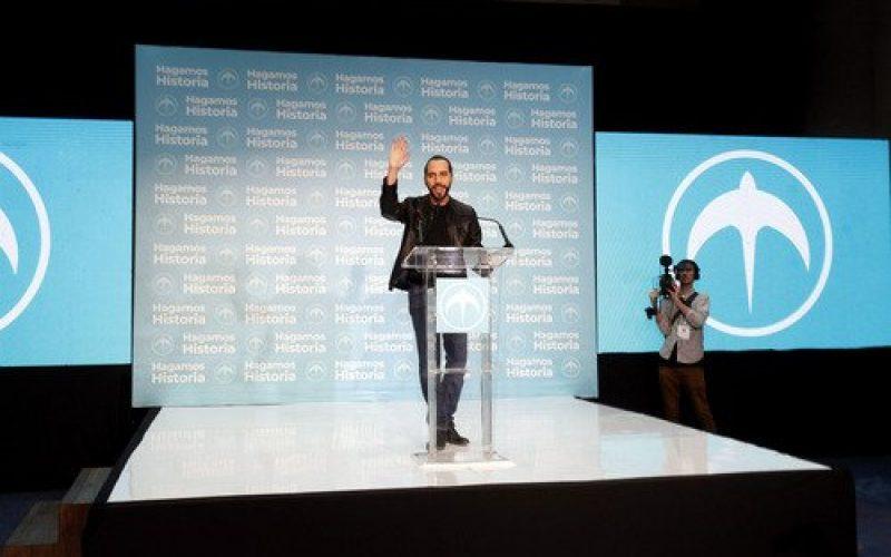 Bukele nuevo presidente de El Salvador; gana eleccciones con convincente 53.78%