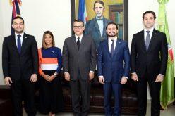 Anje dice defiende institucionalidad y fortalecimiento democrático en visita al presidente del Tribunal Superior Electoral