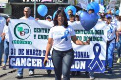 Una caminata contra el Cáncer de Colon en Santo Domingo Este