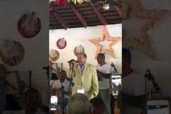 (Video) ¿Y si contratan a Temo para que cante «Dolorita» en el acto de Leonel en el Estadio Olímpico el domingo…?