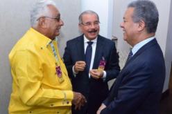Si por la foto es, entre Leonel y Danilo no hay problema… En el PLD no hay crisis…