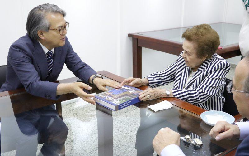 Embajador de Japón en RD visita la Asociación Dominicana de Rehabilitación