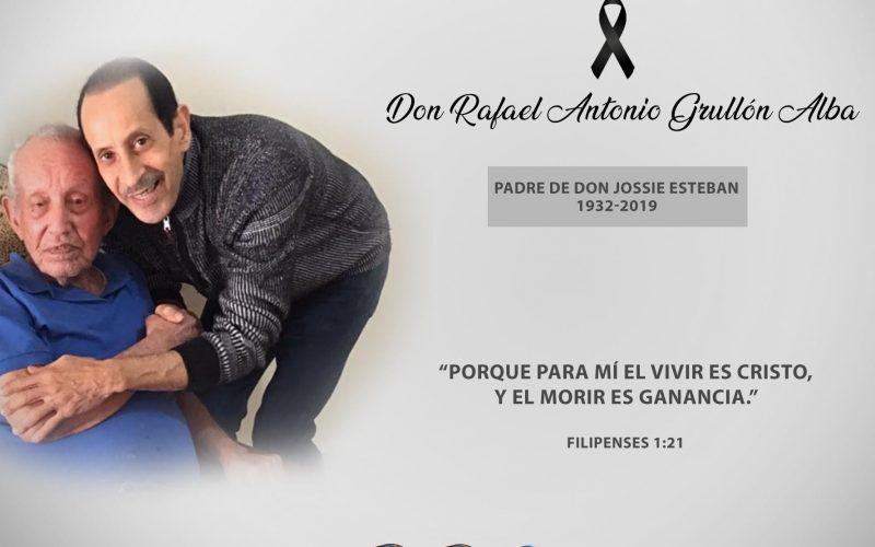 Fallece el padre del merenguero y empresario radial Jossie Esteban