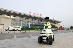 En China han empezado a usar robots para ayudar a policías de tráfico en labores de patrullaje