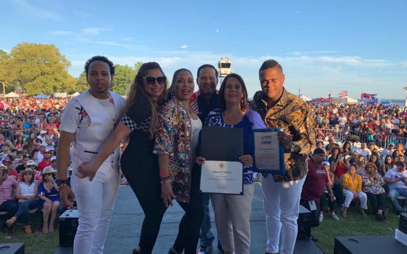 Alcaldía de Perth Amboy reconoce trayectoria artística de Los Toros Band