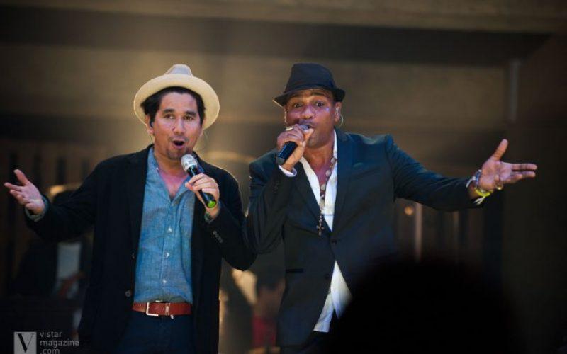 Jorge Villamizar y Pavel Núñez, invitados de Descemer Bueno en Hard Rock Live