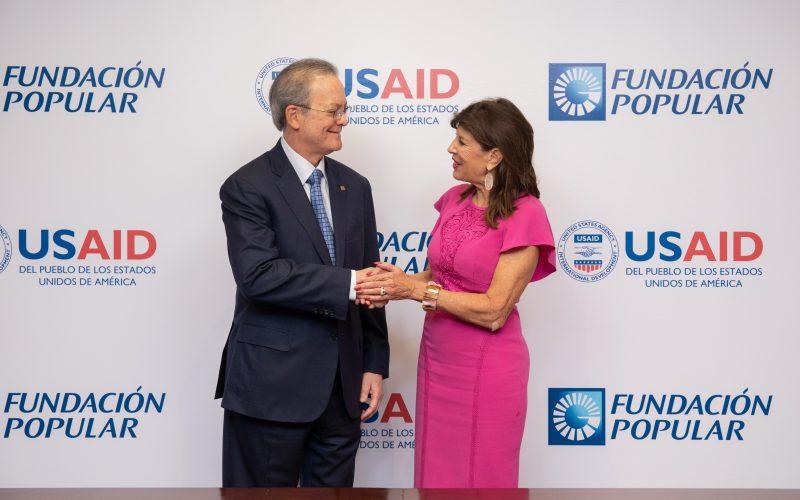 El Banco Popular en alianza estratégica con gobierno de Estados Unidos para trabajar a favor del medioambiente, el agua y el saneamiento