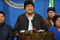 Evo Morales denuncia luego de renunciar como presidente de Bolivia que oficial de la policía de su país anunció públicamente que tiene instrucción de ejecutar
