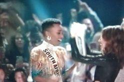 Representante de Sudáfrica es la nueva Miss Universo