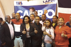 Para apoyar candidatura de Luis Abinader en el PRM, renuncia en Londres dirigencia del PRD