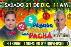 El Pachá celebrará por todo lo alto el octavo aniversario de su programa, y, como era de esperarse, se lo dedicará a su «dios político» de ahora, Gonzalo Castillo