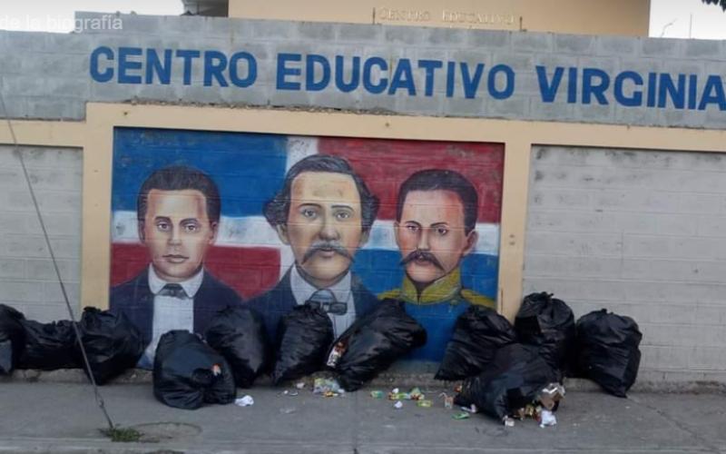 El «basurero de los Padres de la Patria» en Puerto Plata