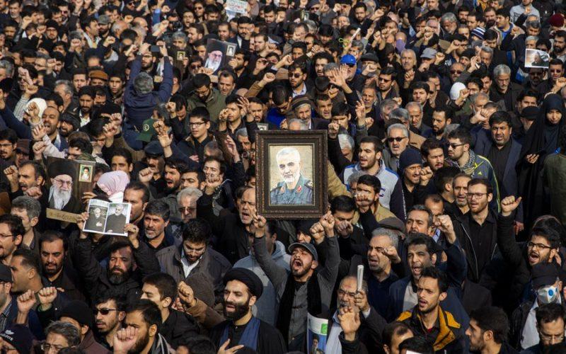 Miles despiden al comandante iraní muerto en ataque aéreo de EEUU en Bagdad