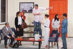 """La comedia teatral """"Toc-Toc"""" debutó con éxito en el Palacio de Bellas Artes"""