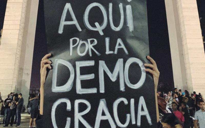 Juan Luis Guera: «La democracia no es un favor, es un derecho»