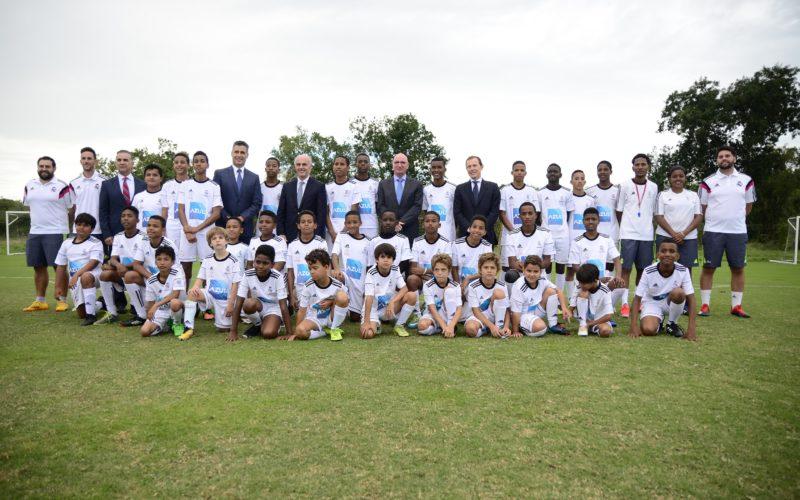 Inaugurada nueva sede Escuela de Fútbol Fundación Real Madrid en RD en el Casa de Campo Resort