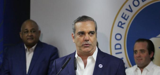 Luis Abinader proclama «¡…Aquí va a haber elecciones lo quiera el Gobierno o no lo quiera!»