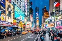 (Video) Time Square de Nueva York… Lento por el coronavirus… Así lo reporta El Pachá…