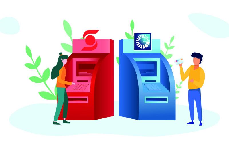 Clientes del Banco Popular y Scotiabank podrán consultar balances y retirar en efectivo con sus tarjetas de débito en cajeros automáticos de ambas entidades