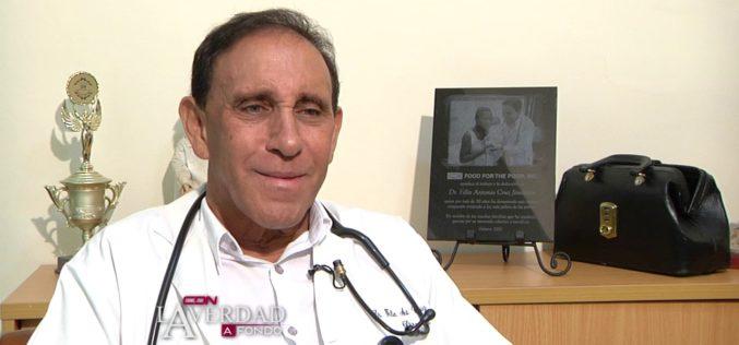El doctor Cruz Jiminián fue dado de alta médica este sábado