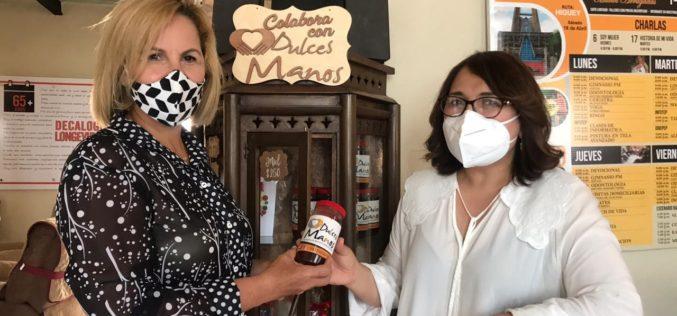 Candidata a diputada Emelyn Baldera inpulsaría anteproyecto Reclamación Manutención Padres y Madres de Fundación Manos Arrugadas