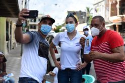 Isaura Taveras, la candidata a diputada, con intensa jornada social en los sectores de la circunscripción No. 3 del Distrito Nacional