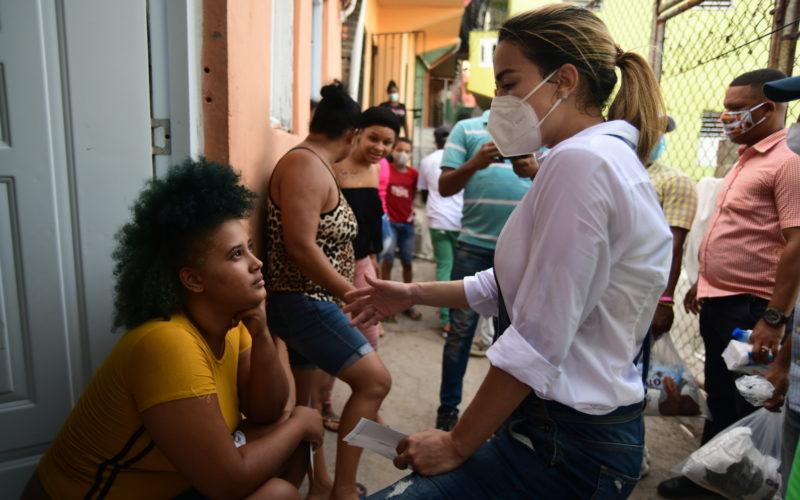 Presentadora TV Isaura Taveras ha impactado a más de 5 mil familias en campaña como candidata a diputadad circunscripción 3 Distrito Nacional por el PRD